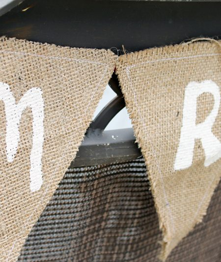 Make these Mr. and Mrs. wedding chair signs for your DIY wedding in just minutes!