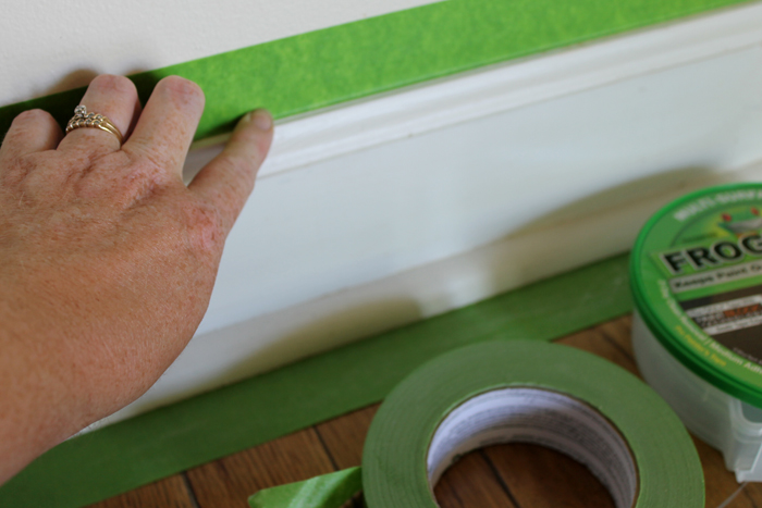 Painting trim and baseboards the right way! Tips and tricks for successful painting in your home!
