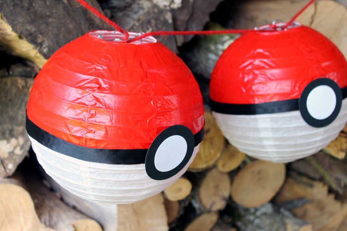 Make a Pokemon party lantern for any Pokemon Go themed party that you are planning! Quick and easy to make yourself!
