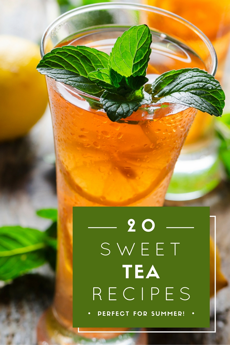 Great sweet tea recipes that are perfect for summer! Mix up some flavor into your sweet tea!