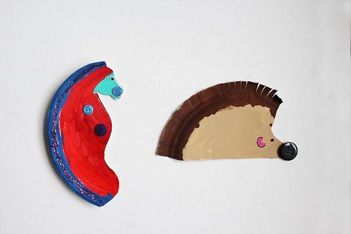 paper plate craft idea
