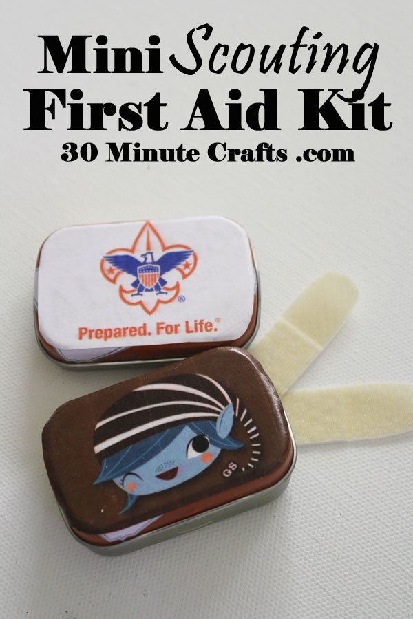scouting first aid kit