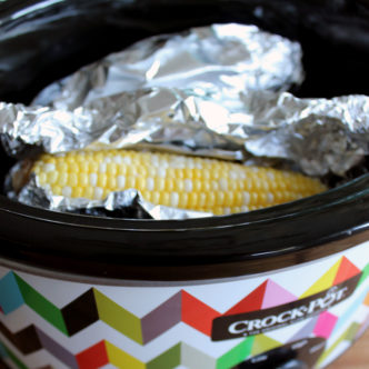 Slow cooker corn on the cob - the easiest and best way to make corn on the cob this summer!