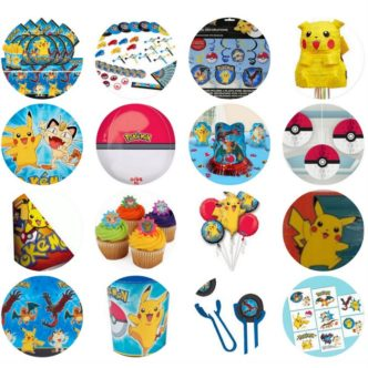 Pokemon Go Party Supplies