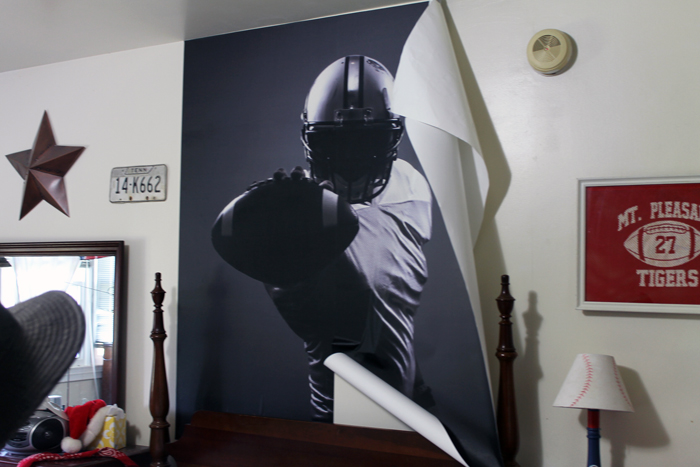 This boy's room wall mural is easy to apply and perfect changing the look of any kid's room in just minutes!
