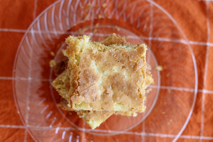 Make this chess squares recipe for your family! A delicious dessert that everyone will love!