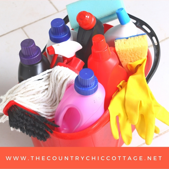 Cleaning supplies you can't live without! A great list of cleaners to get you in and out of the house quicker!