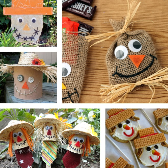 Scarecrow craft ideas the country chic cottage for Scarecrow home decorations co ltd