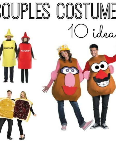 Get 10 ideas for couples costumes for Halloween!