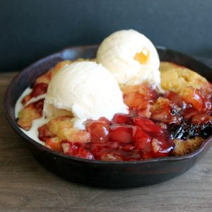 Crockpot cherry dump cake recipe in a slow cooker!