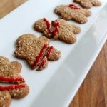 Halloween cookies in minutes! Make our gingerbread massacre with store bought cookies!