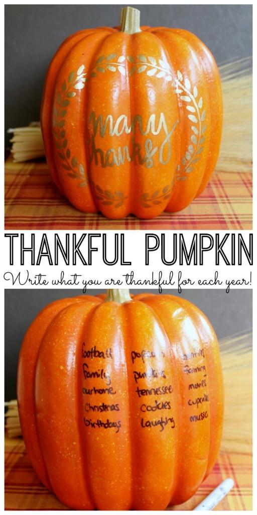 thankful pumpkin graphic