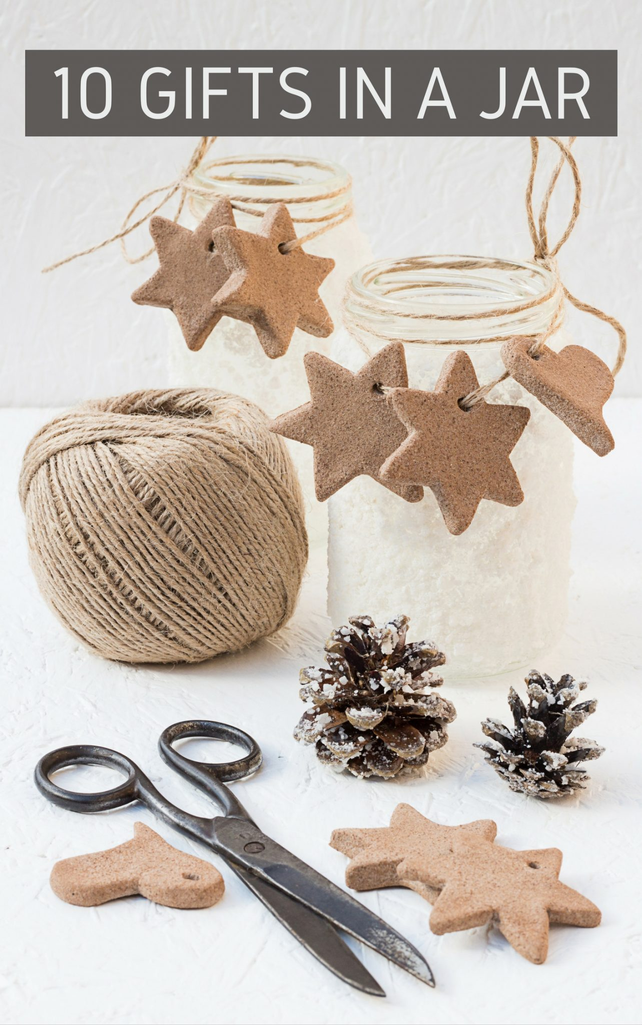 Print this e-book with 10 gifts in a jar ideas for FREE here!
