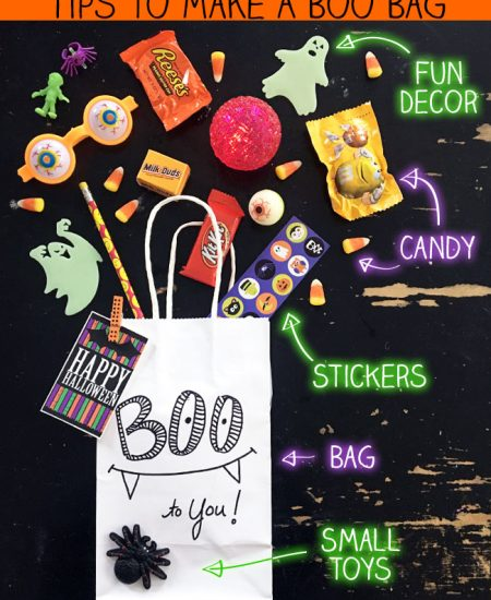 Tips to make your own Boo Bag