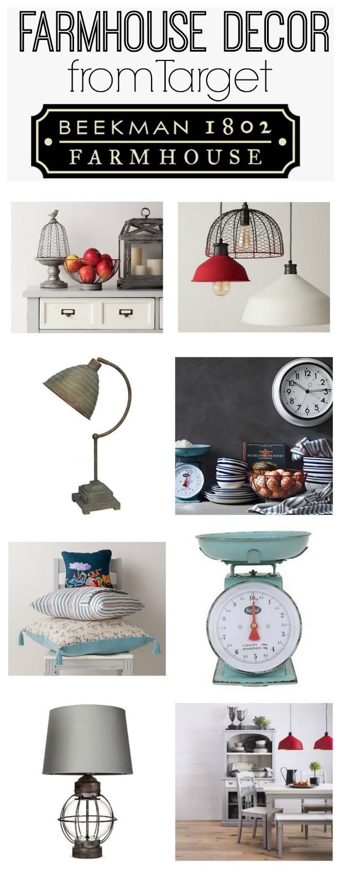 Elegant Beekman Farmhouse Collection at Target great farmhouse decor at affordable prices