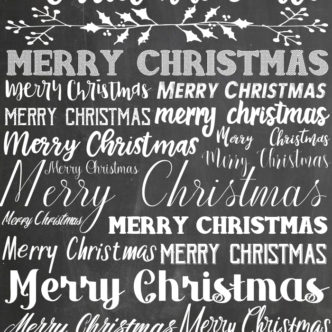 18 Christmas Fonts and MORE!