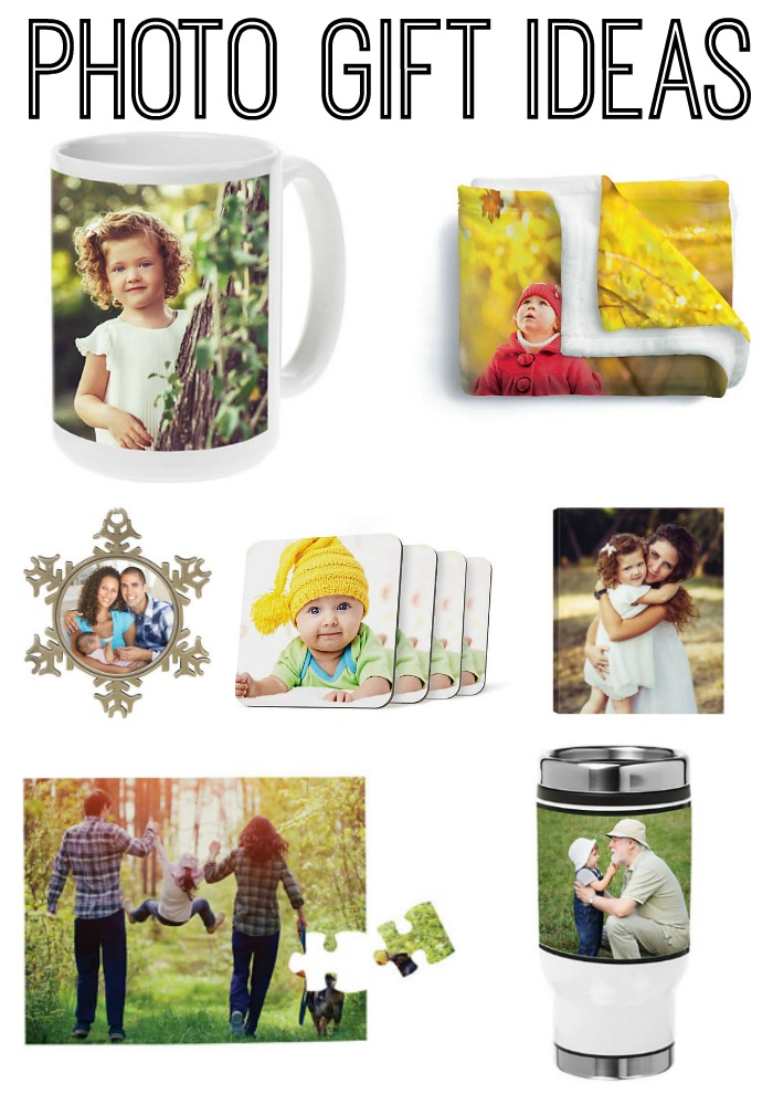 Photo gifts for everyone on your list! Great gift guide!