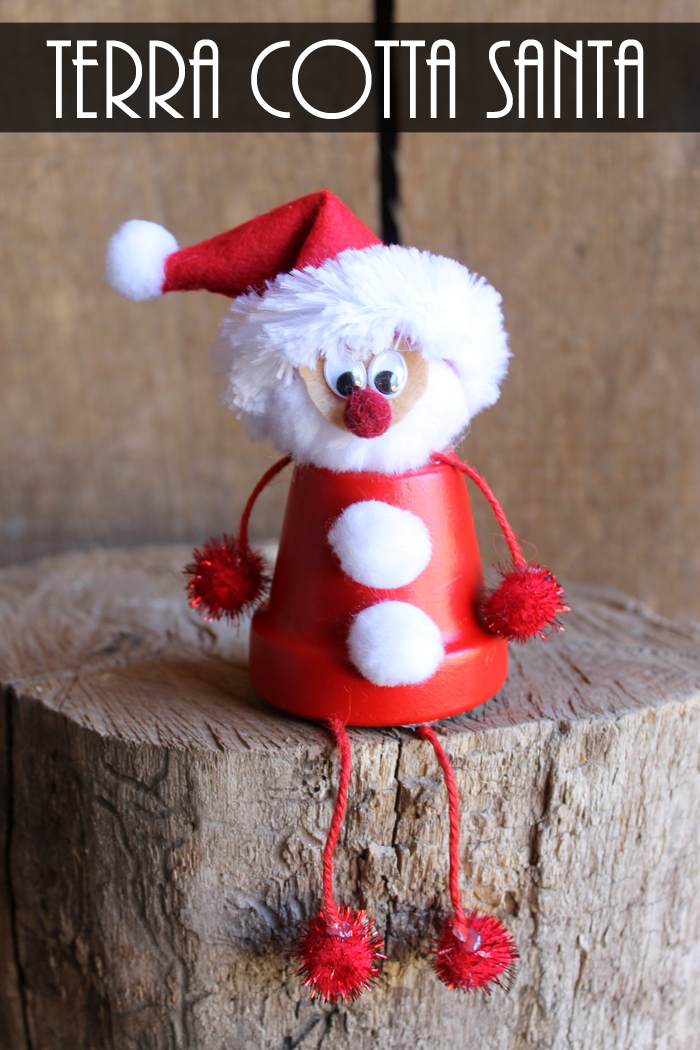 Christmas Crafts Made With Terra Cotta Pots