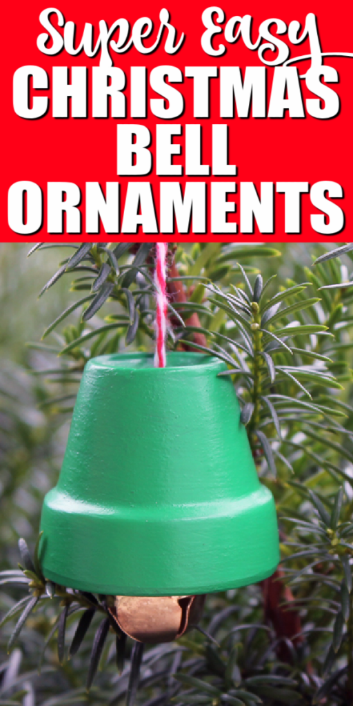 easy christmas bell ornaments