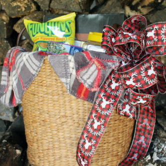 Family fun gift basket that works for any holiday!