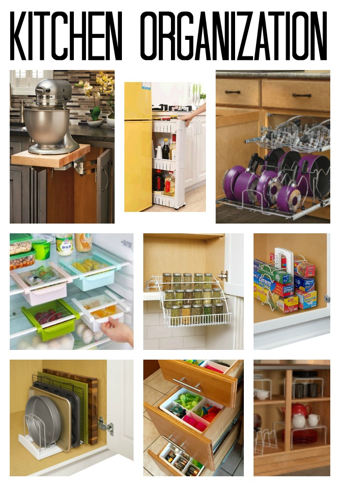 Kitchen Organization - the 10 supplies you need in your home!