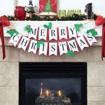 DIY Christmas Banner with Free printable