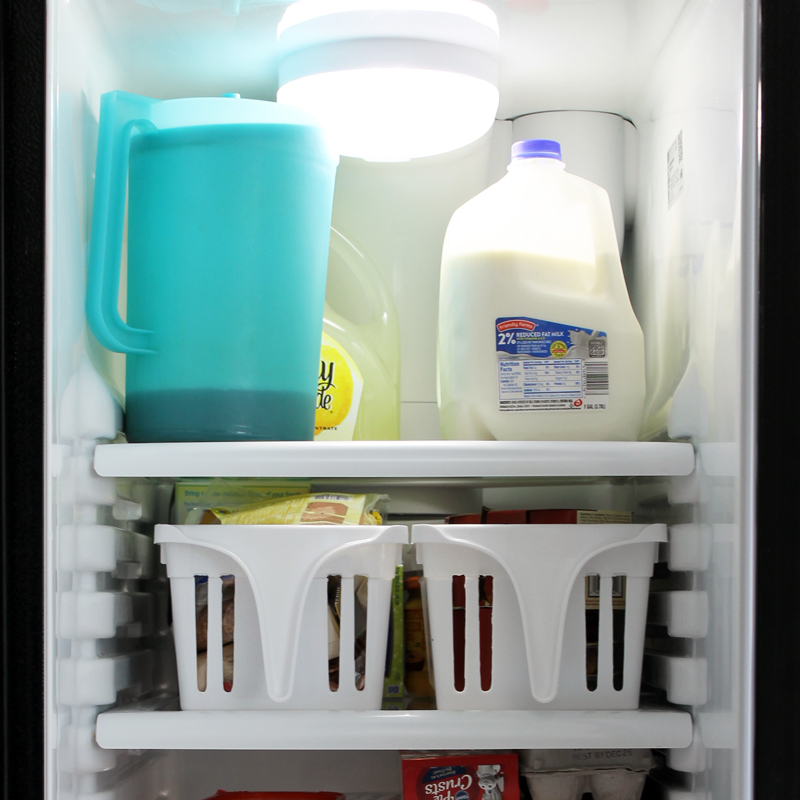The best ideas for refrigerator organization! Perfect for organizing your kitchen!
