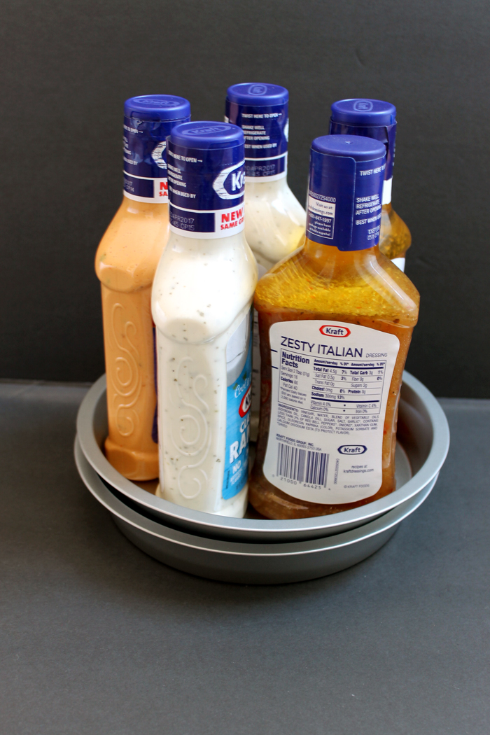 Dollar Store Lazy Susan Organizing Idea The Country Chic