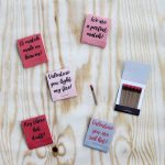 Matchbook Valentines - print the free printable and let your sweetheart know they really light your fire! A great inexpensive Valentine's Day idea!