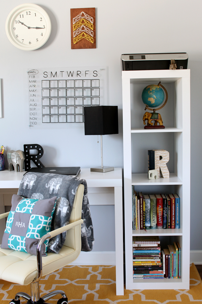 This Organized Desk Area Is Perfect For A Teen Room Get Great Ideas Organizing