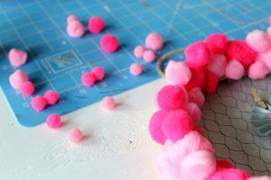 Quick Valentine's Day Wreath Idea - easy craft idea for your home!
