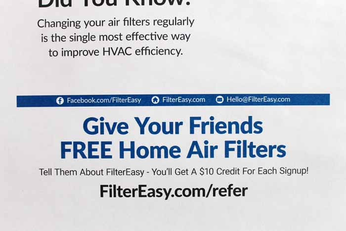 Never forget to change your air filters again!