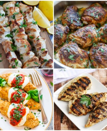 Chicken recipes that are perfect for dinner tonight!