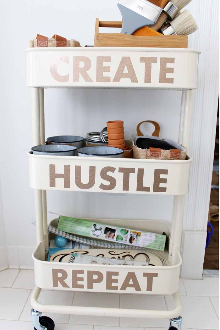 Add this craft cart to your craft room!