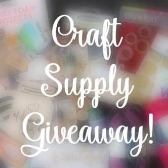 Win Craft Supplies – Mystery Box Giveaway!