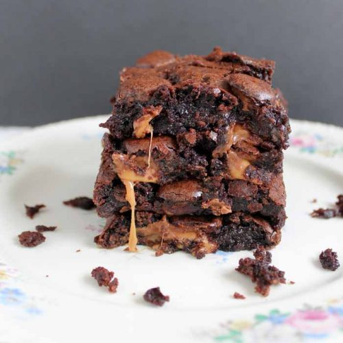Rolo brownies recipe - the ultimate in chocolate dessert!
