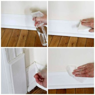Best Way to Clean Baseboards – and keep them clean!