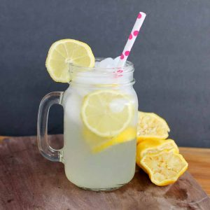 Old Fashioned Lemonade - a recipe for a single serving that you will love!