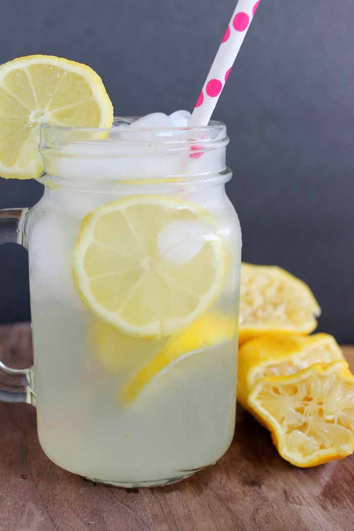 Old Fashioned Homemade Lemonade - a recipe for a single serving that you will love!