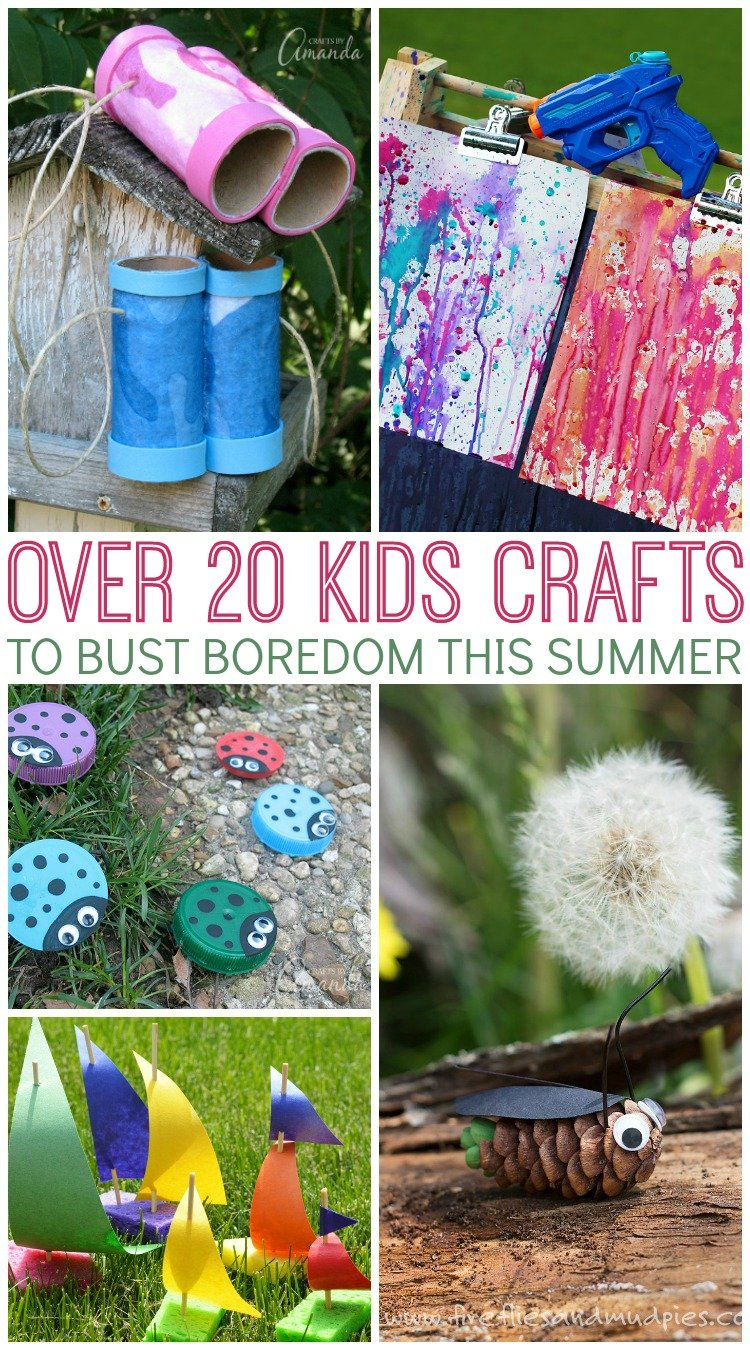 Summer Craft Ideas Perfect For Kids The Country Chic Cottage