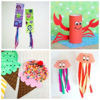 Summer Craft Ideas:  Perfect for Kids