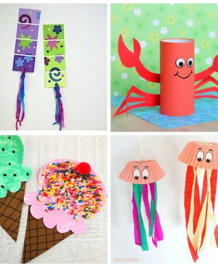 Summer Craft Ideas - perfect boredom busters for your kids this summer!