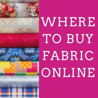 Where to Buy Fabric Online:  My Top Sources