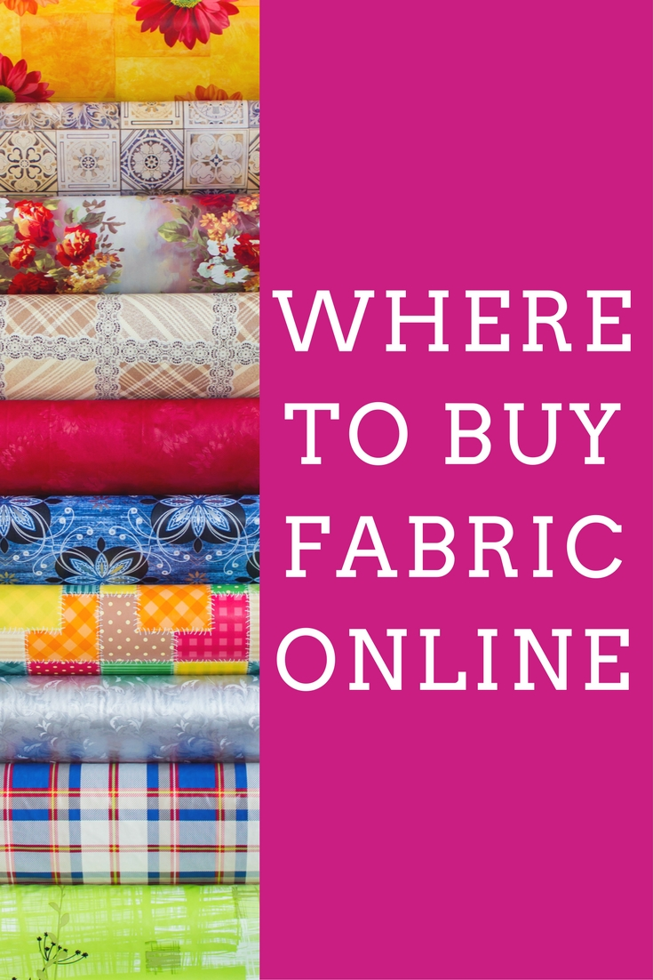Where to buy fabric online - one blogger reveals her top sources!