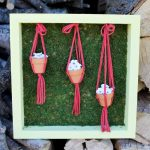 Make this DIY spring decor from clay pots!