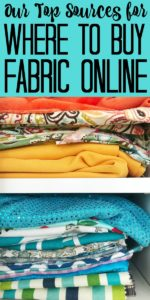 Need to know where to buy fabric online? These six sources will be your go to for everything from home decor fabric to burlap! #fabric #onlineshopping #crafts #crafting