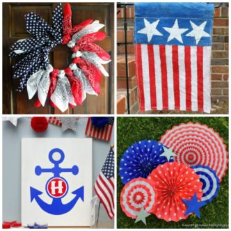 Patriotic Decorations: 50 Ideas in 15 Minutes or Less
