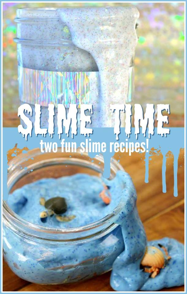 Slime for Kids - make these two recipes with your little ones!