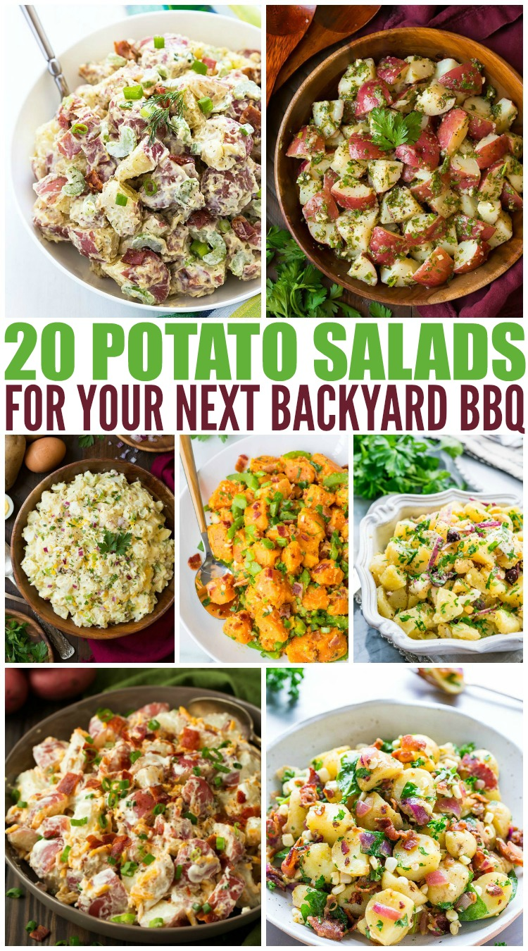 Making Potato Salad: 20 ways to enjoy this classic summer recipe!