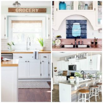 Farmhouse Kitchen Ideas:  Inspiration for Your Home